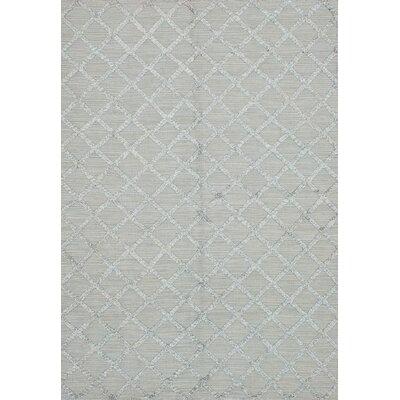 Bonefield Kilim Light Green Area Rug