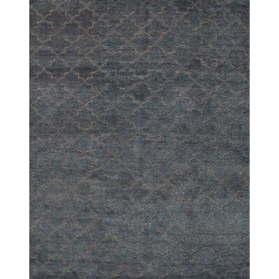 One-of-a-Kind Bonita Hand-Knotted Brown/Gray Area Rug