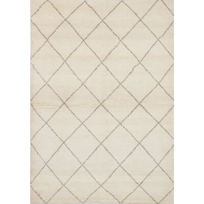 Bridgewater Hand-Knotted Cream Area Rug