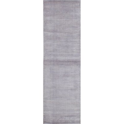 One-of-a-Kind Don Hand-Knotted Light Violet Area Rug