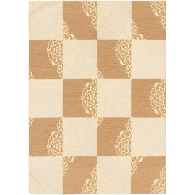 Schneider Cream/Brown Area Rug