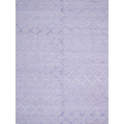 Bonefield Kilim Light Violet Area Rug