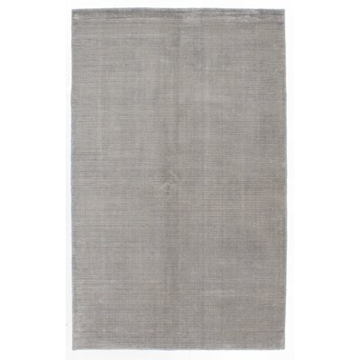 One-of-a-Kind Don Hand-Knotted Light Gray Area Rug