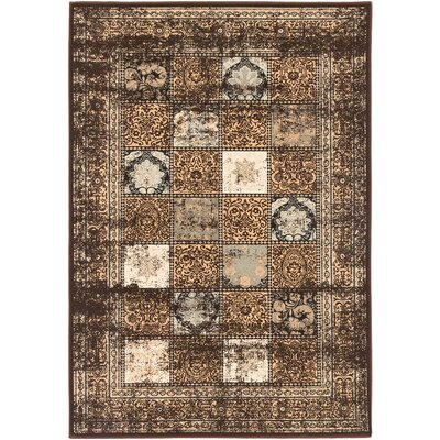 Jaycob Dark Brown Area Rug Rug Size: 311 x 53