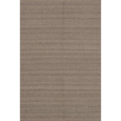 Bonefield Kilim Dark Khaki Area Rug Rug Size: 6'1