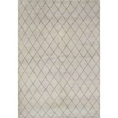 Bridgewater Hand-Knotted Light Gray Area Rug