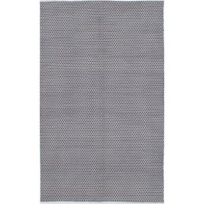 Glen Honeycomb Cream/Dark Gray Area Rug