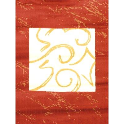 Seamus Red Area Rug