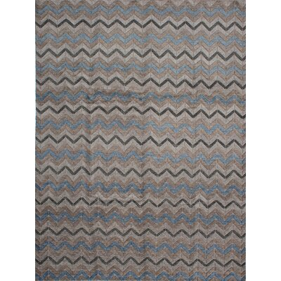 Payton Hand-Knotted Beige/Gray Area Rug