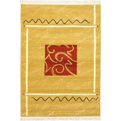 Seamus Red/Yellow Area Rug
