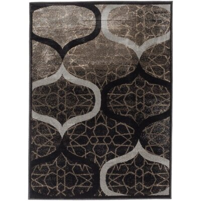 Vincenzo Brown/Gray Area Rug Rug Size: 311 x 53