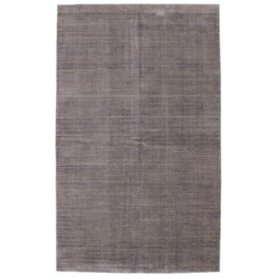 Don Hand-Knotted Light Purple Area Rug