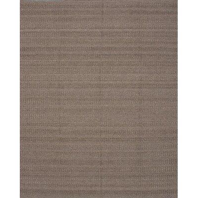 Bonefield Kilim Dark Khaki Area Rug Rug Size: 81 x 102