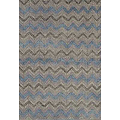 Payton Hand-Knotted Beige/Blue Area Rug