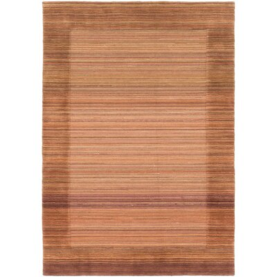 Moriah Hand-Knotted Brown Area Rug