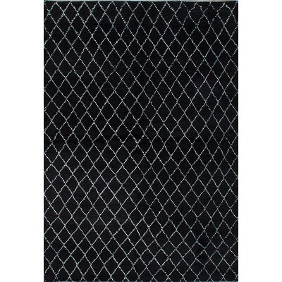Bridgewater Hand-Knotted Black Area Rug