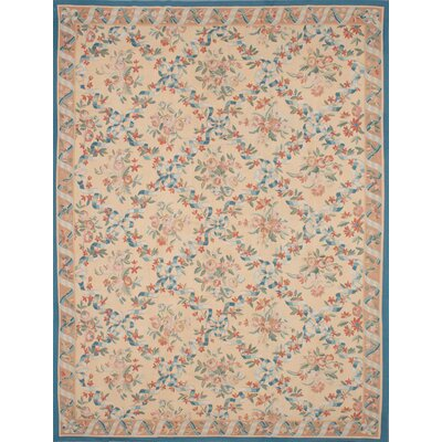 Rogers Hand-Woven Ivory Area Rug