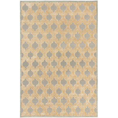 Sherron Ivory/Light Gray Area Rug