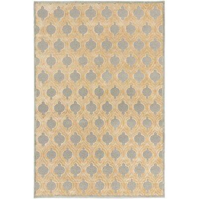 Sherron Ivory/Light Gray Area Rug