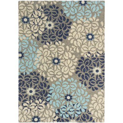 Schneider Gray/Blue/Cream Area Rug