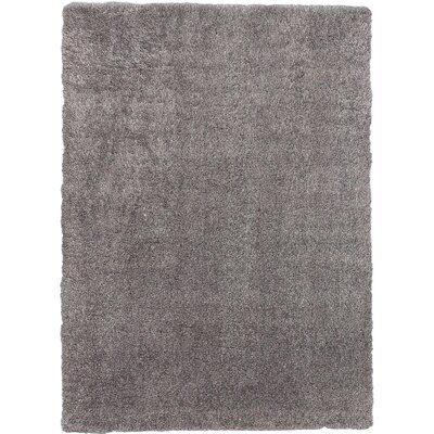 Hardage Shag Gray Area Rug Rug Size: Rectangle 710 x 102