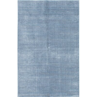 Don Hand-Knotted Sky Blue Area Rug