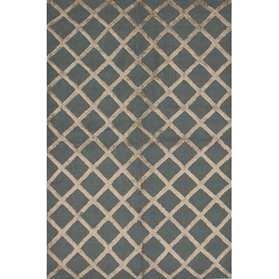 One-of-a-Kind Bonefield Silk Gray/Brown Area Rug