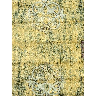 Seamus Green/Yellow Area Rug