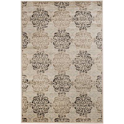 Bonniefield Ivory Area Rug Rug Size: 7'10