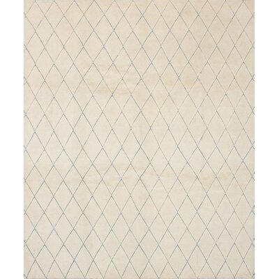 Payton Hand-Knotted Cream Area Rug