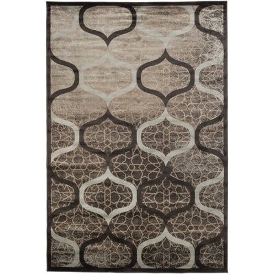Vincenzo Brown/Gray Area Rug Rug Size: 710 x 102