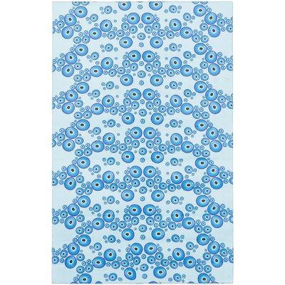 Bresnahan Art Light Blue Area Rug