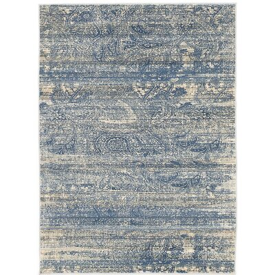 Shawn Dark Blue Area Rug