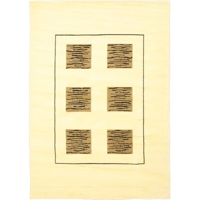 Seamus Light Yellow/Brown Area Rug