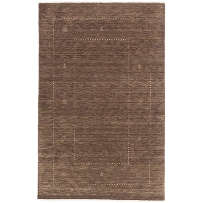 Remy Hand-Knotted Brown Area Rug