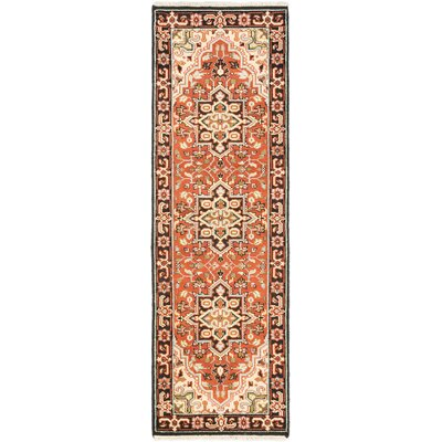 Bovell Hand-Knotted Copper Area Rug