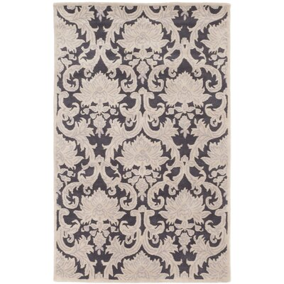 Bonito Hand-Tufted Brown/Cream Area Rug