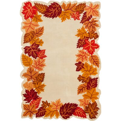 Richardson Hand-Tufted Cream Area Rug