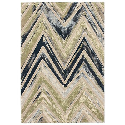 Seth Emerald green/Gray/Blue Area Rug Rug Size: 710 x 10