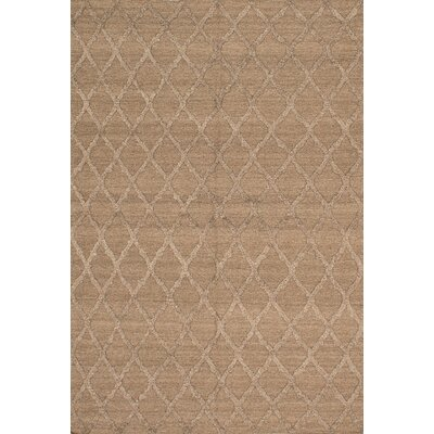 One-of-a-Kind Bonefield Wool Brown Area Rug