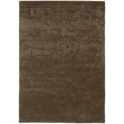 Mountville Hand-Tufted Brown Area Rug