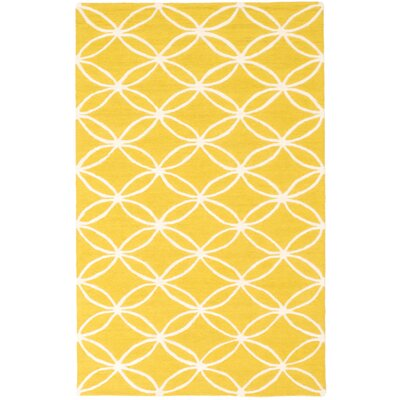 Charthouse Hand-Tufted Yellow Area Rug