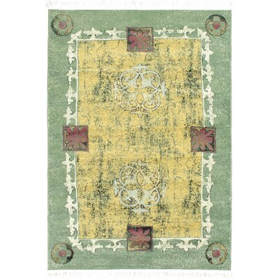 Seamus Green/Yellow Area Rug