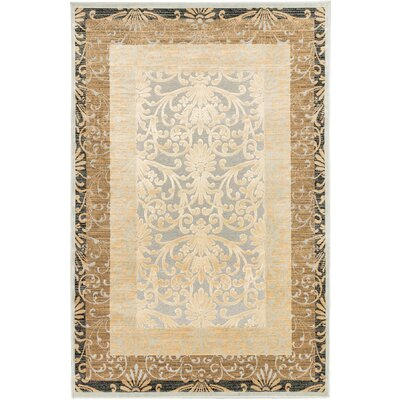 Bonella Ivory/Light Gray Area Rug