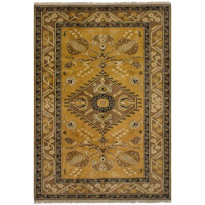 Ambleside Hand-Knotted Wool Light Brown Area Rug