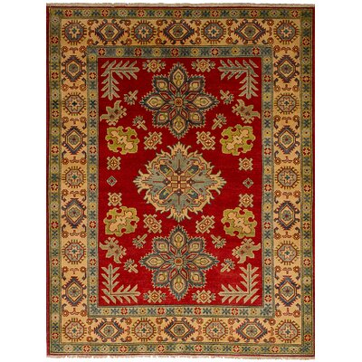 One-of-a-Kind Bernard Hand-Knotted Wool Red Area Rug