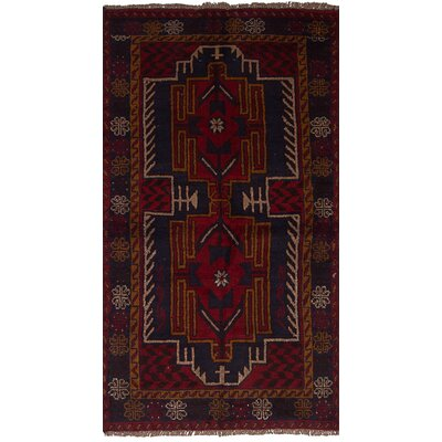 One-of-a-Kind Bethany Hand-Knotted Wool Red Area Rug