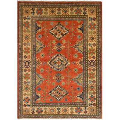 One-of-a-Kind Bernard Hand-Knotted Wool Copper Area Rug