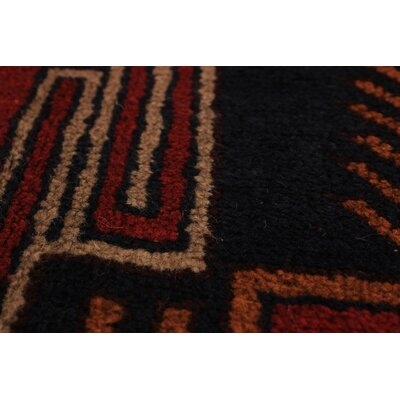 Bethany Hand-Knotted Wool Red Area Rug