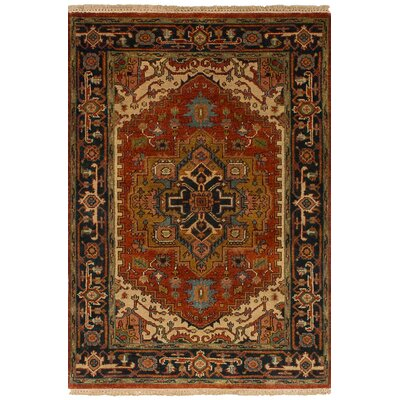 One-of-a-Kind Bilboro Hand-Knotted Wool Brown Area Rug
